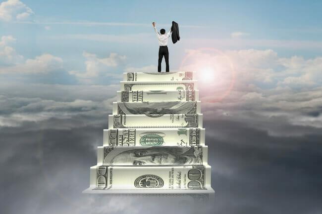money-ladder