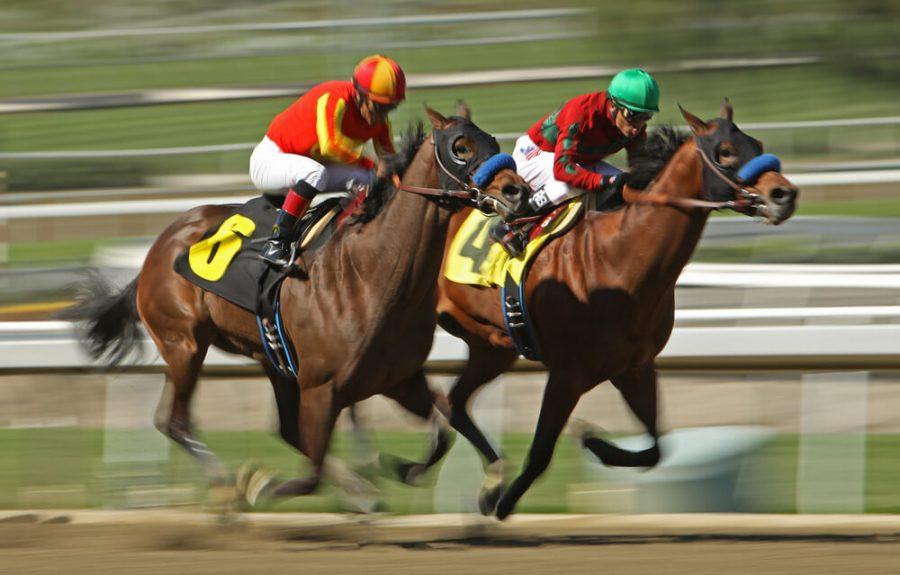 to win a maiden race at Santa Anita Race