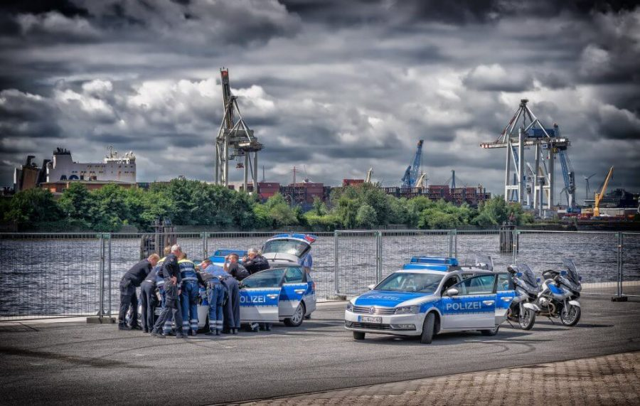 police meeting