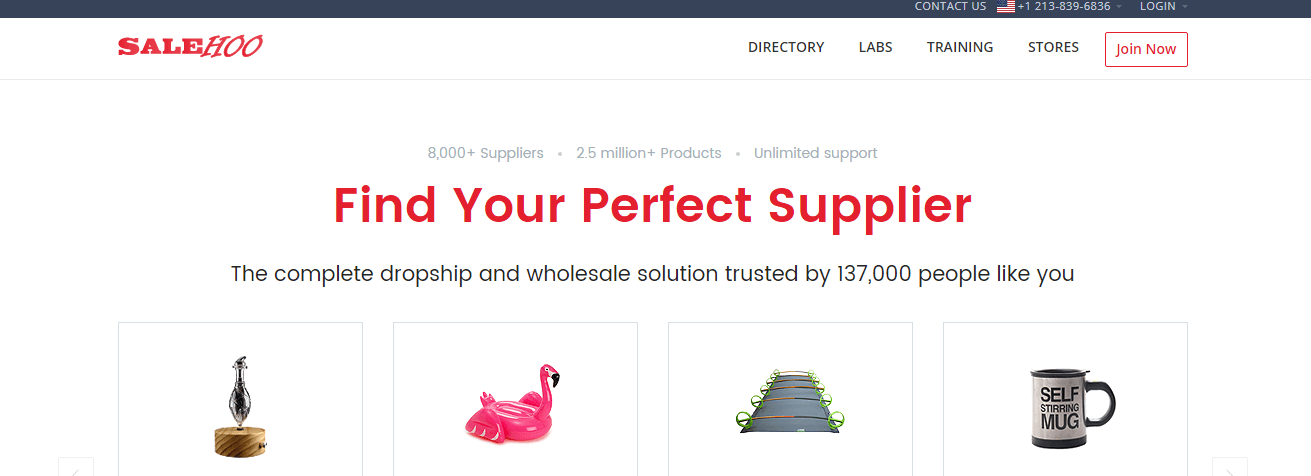 Find a perfect supplier at SaleHoo