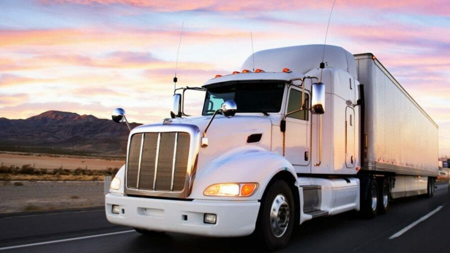 truck freight and cargo