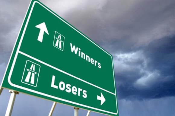Sign for Winners or Losers